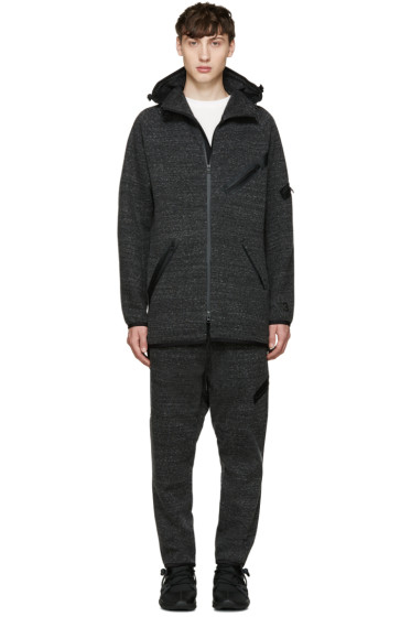 Y-3 - Grey Knit Future SP Parka