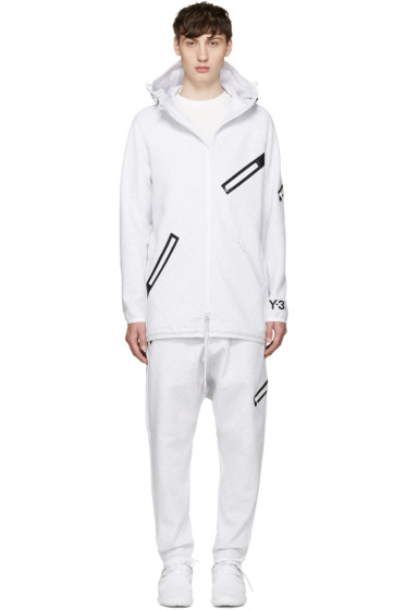 Y-3 - White Knit Future SP Parka