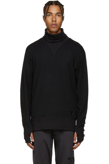 Y-3 - Black Double Jersey Sweater
