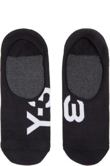Y-3 - Black Invisible Socks