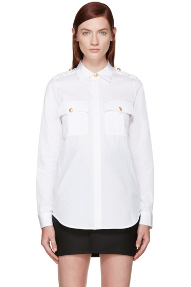 Dsquared2 - White Sergeant Shirt