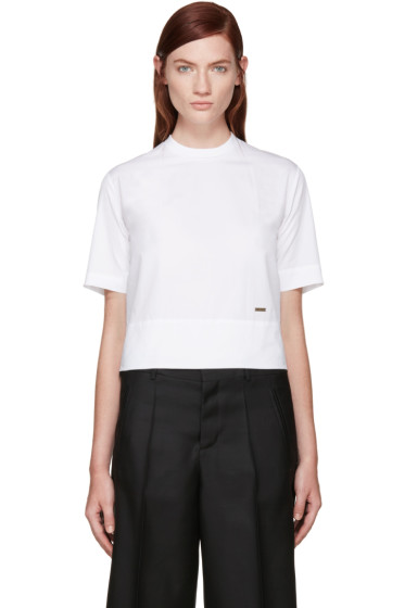 Dsquared2 - White Poplin T-Shirt