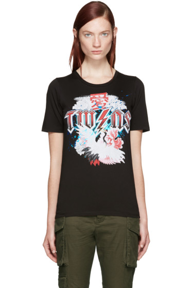 Dsquared2 - Black 'Twins' T-Shirt