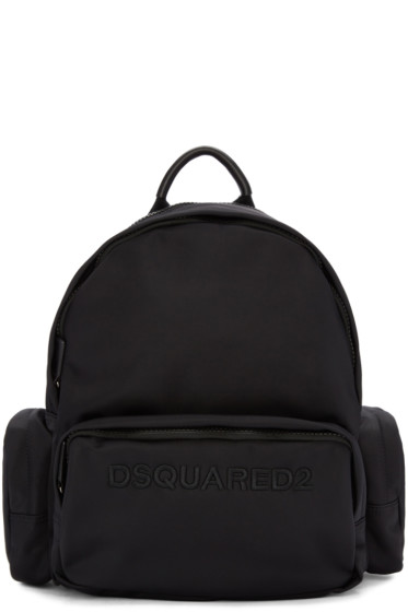 Dsquared2 - Black Logo Backpack