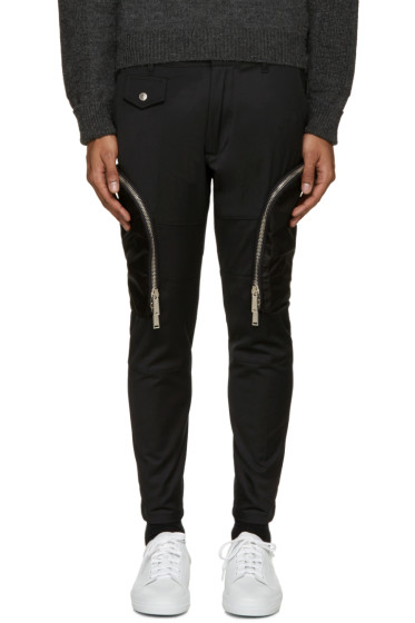 Dsquared2 - Black Twill Cargo Pants
