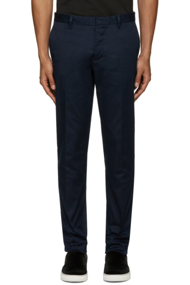 Dsquared2 - Navy Twill Tokyo Trousers