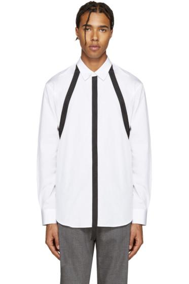 Dsquared2 - White Straps Relax Dan Shirt