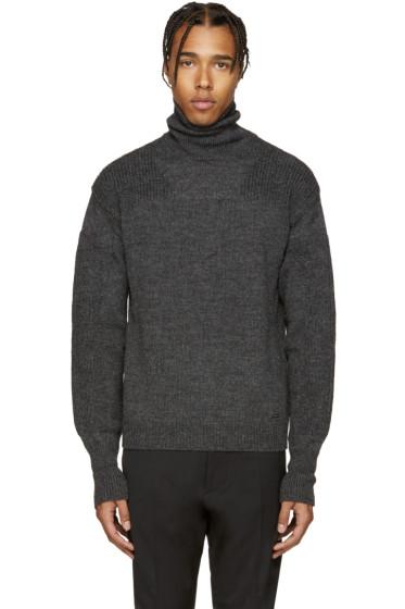 Dsquared2 - Grey Wool Turtleneck.