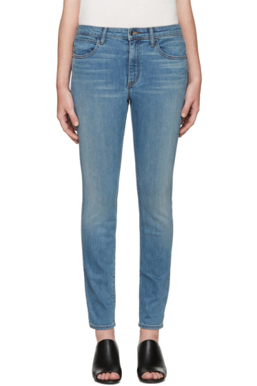 Helmut Lang - Blue Skinny Jeans