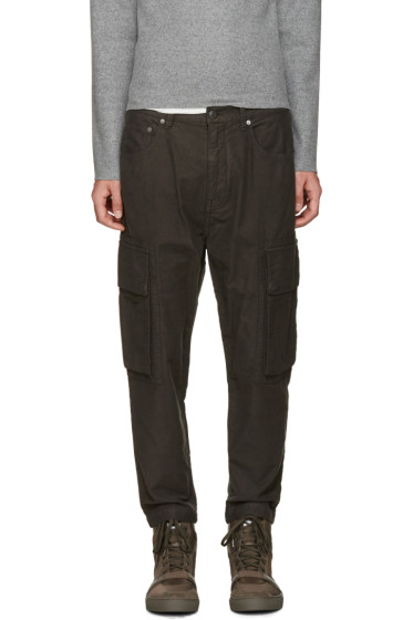 Helmut Lang - Grey Cargo Trousers