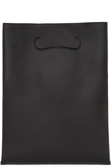 Maison Margiela - Black Small Shopper Tote Bag