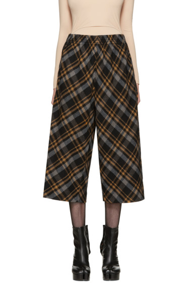 Maison Margiela - Multicolor Tartan Trousers