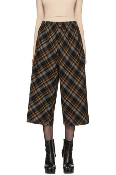 Maison Margiela - Multicolor Tartan Trousers