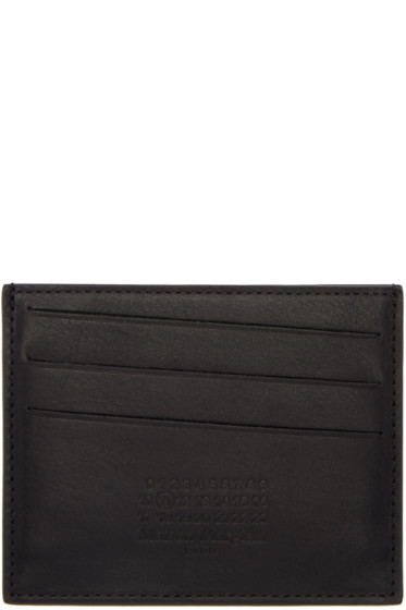 Maison Margiela - Black Logo Card Holder