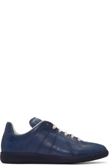Maison Margiela - Navy High Frequency Replica Sneakers