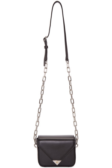 Alexander Wang - Black Mini Prisma Envelope Bag
