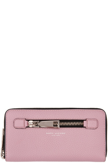 Marc Jacobs - Pink Gotham City Standard Wallet