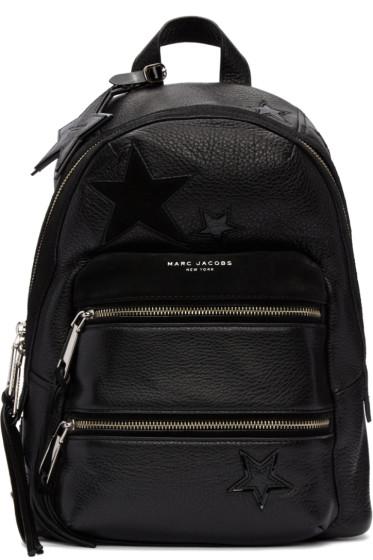 Marc Jacobs - Black Star Patchwork Backpack