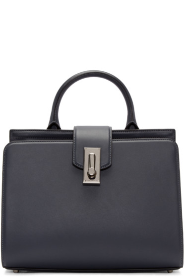 Marc Jacobs - Grey Leather Small West End Handle Bag