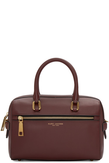 Marc Jacobs - Burgundy West End Small Bauletto Bag