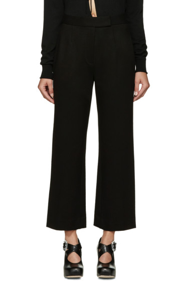 Marc Jacobs - Black Compact Jersey Trousers
