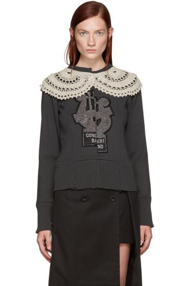 Marc Jacobs - Grey Varsity Sweater