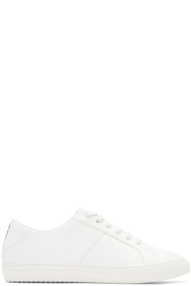 Marc Jacobs - White Leather Empire Sneakers