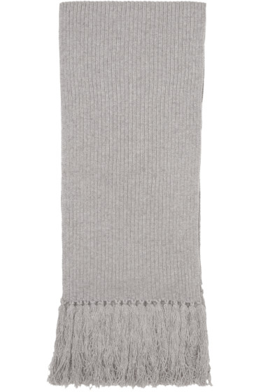 Marc Jacobs - Grey Cashmere Scarf