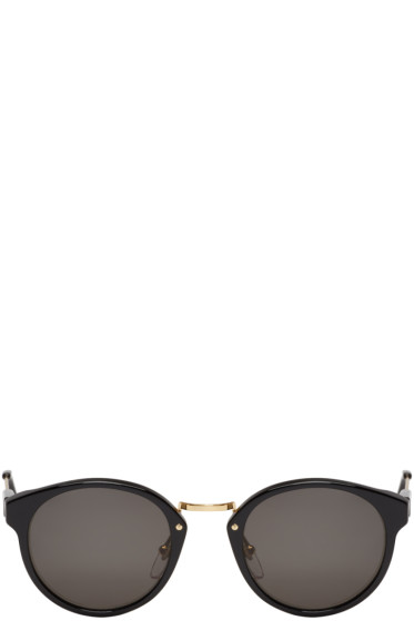 Super - Black Panama Sunglasses