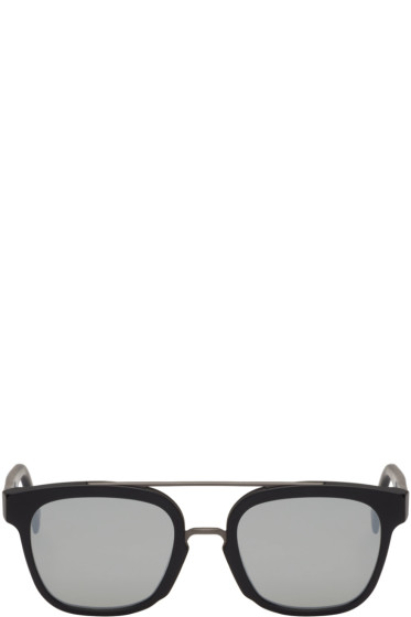 Super - Black Akin Sunglasses