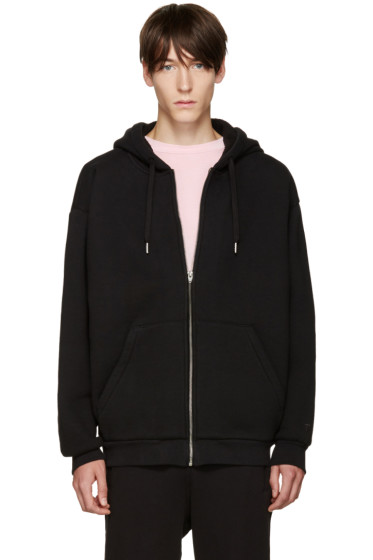 T by Alexander Wang - Black Oversized Hoodie