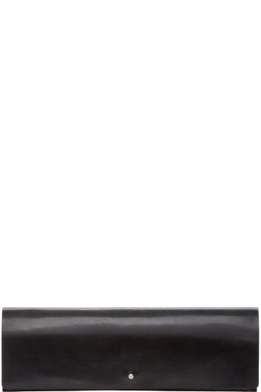 Rick Owens - Black Flat Clutch