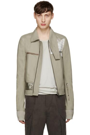 Rick Owens - Grey Souvenir Jacket
