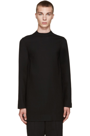Rick Owens - Black Wool Tunic