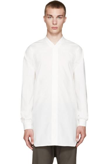 Rick Owens - White Faun Shirt