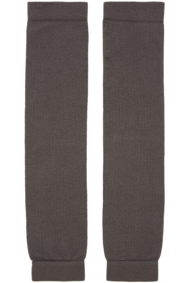 Rick Owens - Grey Leg Warmers