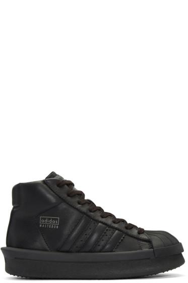 Rick Owens - Black adidas Edition Mastodon Sneakers