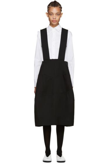Comme des Garçons - Black Suspender Dress