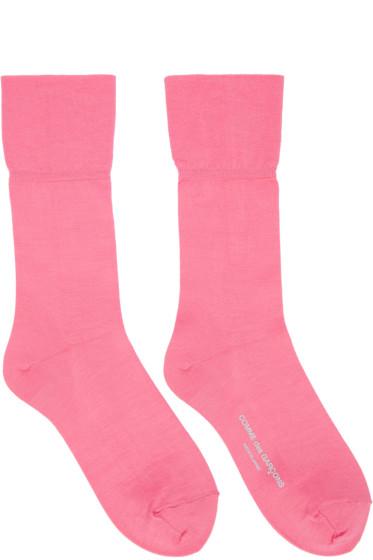 Comme des Garçons - Pink Long Socks