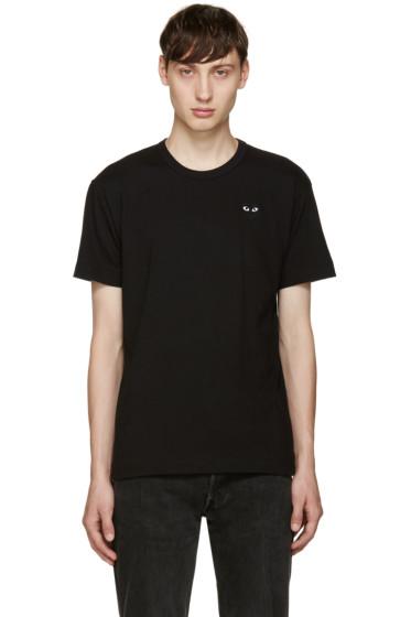 Comme des Garçons Play - Black Heart Patch T-Shirt