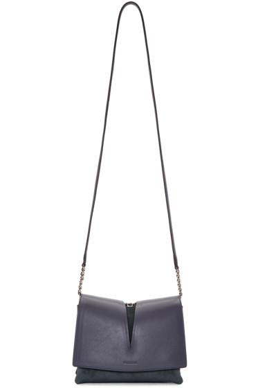 Jil Sander - Grey Suede Small View Bag