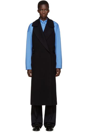 Jil Sander - Navy Backless Bauhaus Vest