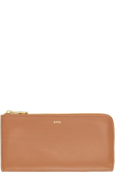 A.P.C. - Pink Zip Wallet