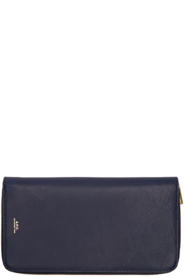 A.P.C. - Navy Personal Organizer Wallet
