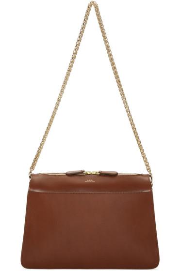 A.P.C. - Brown Ella Bag