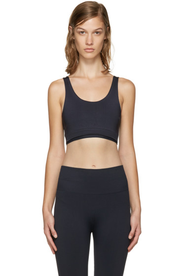 A.P.C. x Outdoor Voices - Navy Seamless Bra