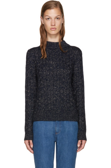 A.P.C. - Navy Shelley Pullover