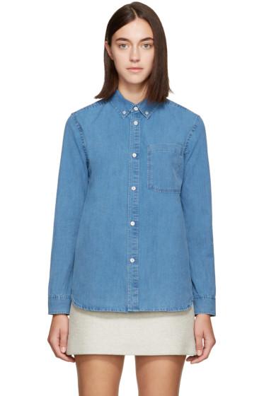 A.P.C. - Blue Lynn Shirt