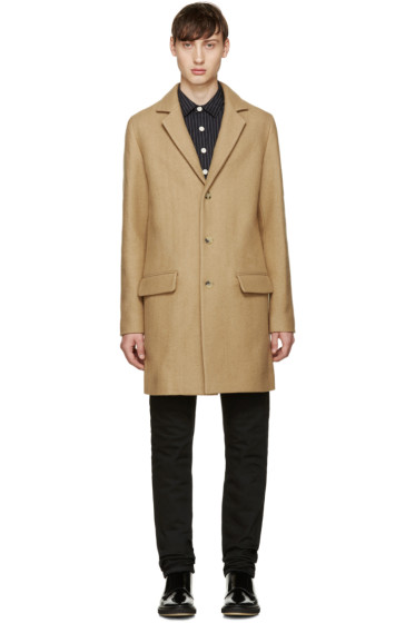 A.P.C. - Tan Lewis Coat