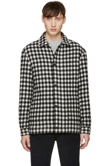 A.P.C. - Black & White Check Hunter Jacket